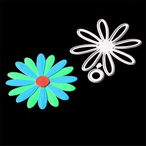 Romantic Flower Circle Metal Cutting Dies for Scrapbooking Album Cards Making J!