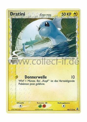 Pokemon EX Delta Species 66//113 Dratini deutsch