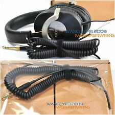 New Repair Coiled DJ Cable Wire Line For Sony MDR ZX 500 ZX 700 701 Headphones