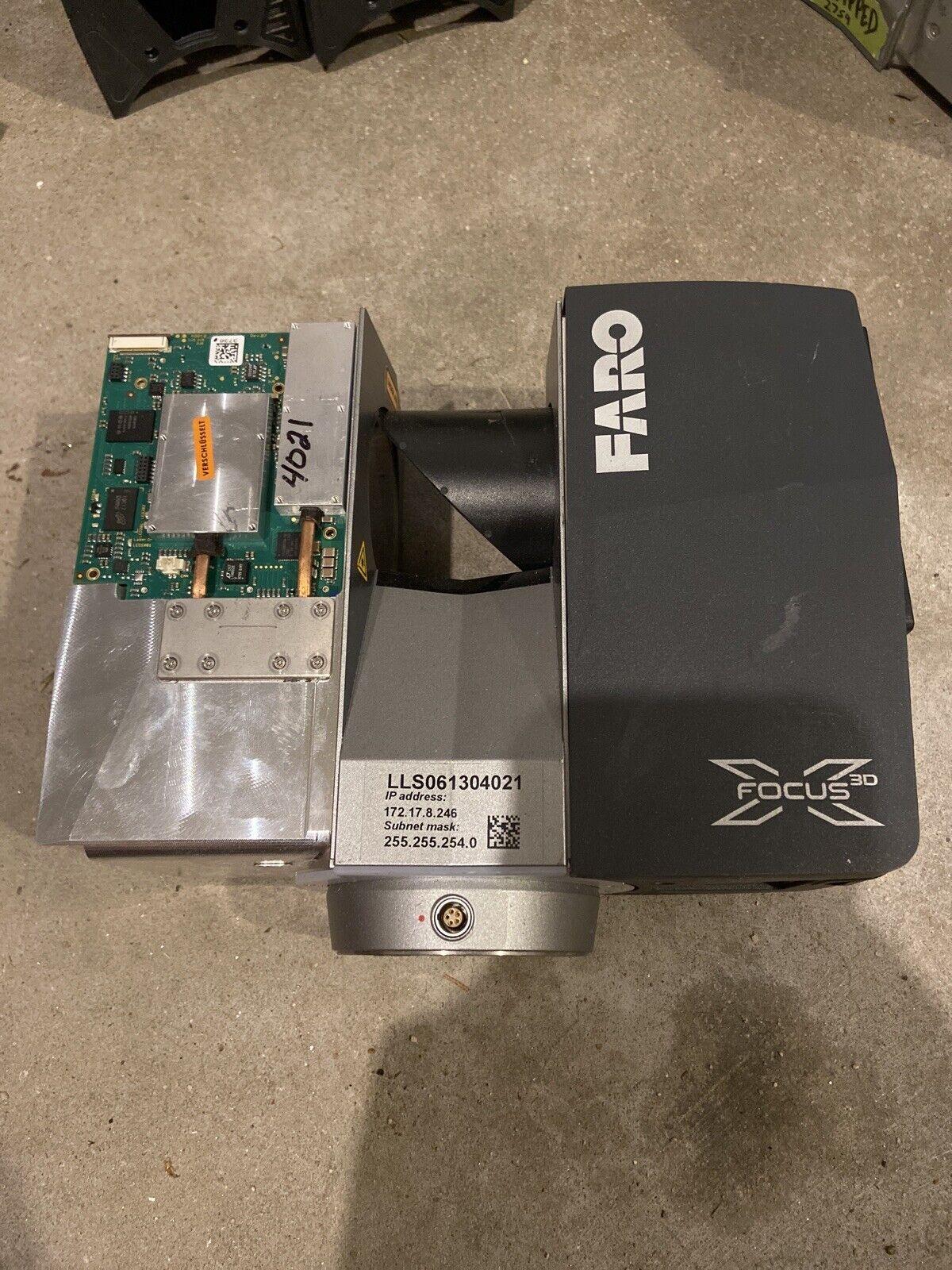Faro X130 3d Laser Scanner FARO Robotic 2013 For Parts or Repair Trimble