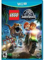 Lego Jurassic World, Wii U Video Games Supplies Playstations Kids Hobbies on sale