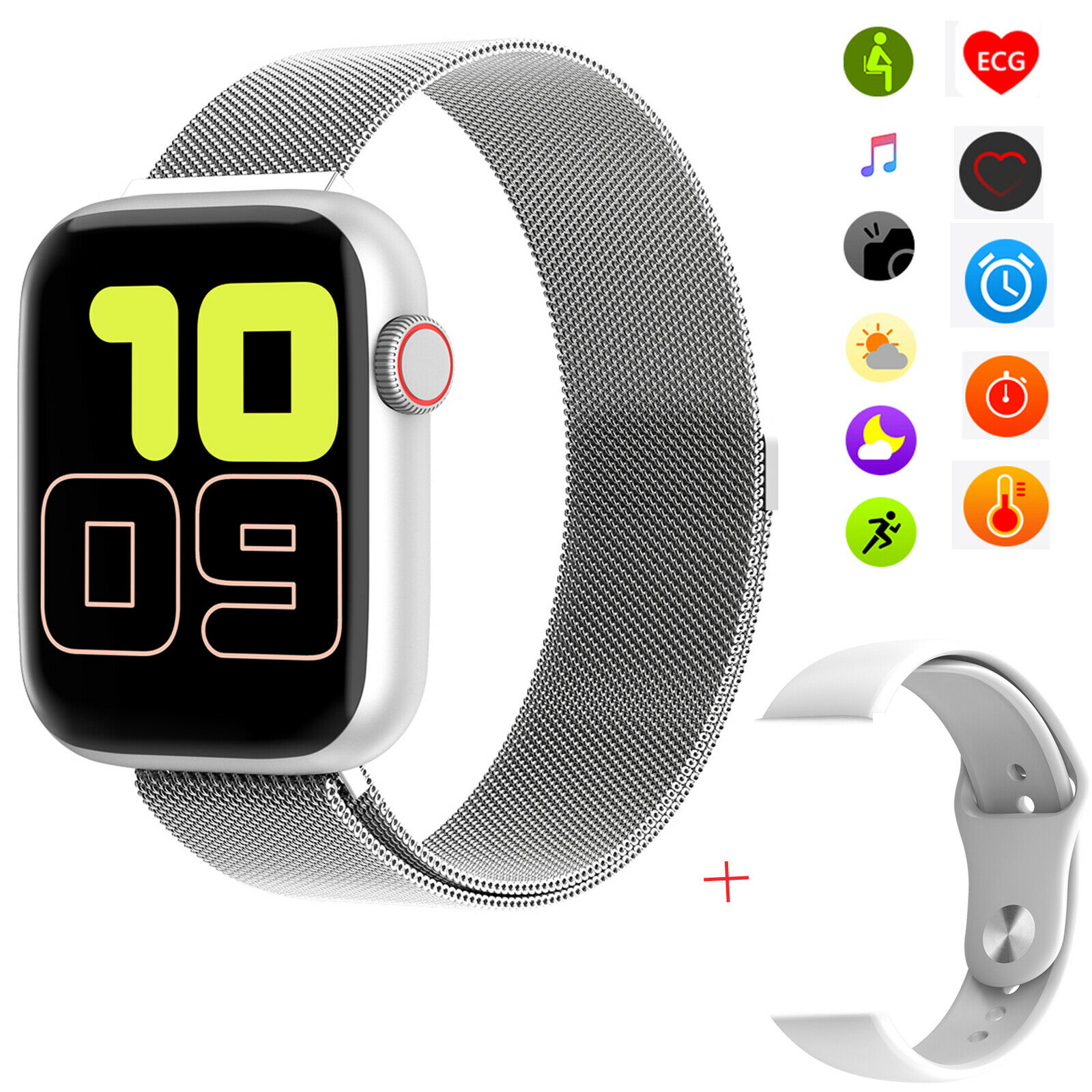 Touch Screen Smart Watch Bluetooth Call Remind For Android Samsung A10 A20 A50 android bluetooth call Featured for remind samsung screen smart touch watch
