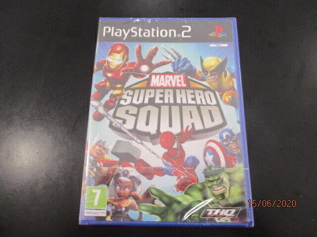 Marvel Super Hero Squad PS2 PLAYSTATION 2 Neuf Scellé Version FR Pal