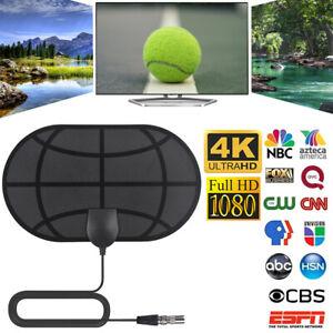 UK-980-Mile-Indoor-TV-Antenna-Aerial-Freeview-Digital-4K-HDTV-Signal-Amplified