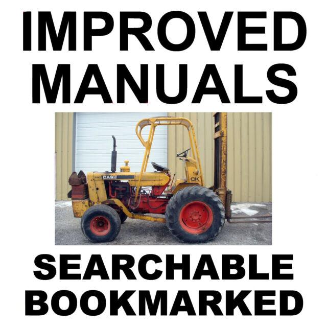 Case 580ck 580 Ck Forklift Operators Owners Instruction