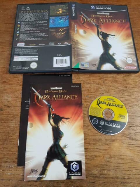 BALDURS GATE DARK ALLIANCE Nintendo Gamecube Gioco GC COMPLETO OTTIMO PAL Wii
