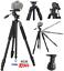 80-034-PROFESSIONAL-HEAVY-DUTY-TRIPOD-FOR-CANON-EOS-REBEL-5D-6D-7D-60D-70D-80D-T5 thumbnail 1