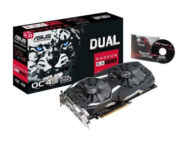 Graphic Video Card Gigabyte Radeon RX 460 4GB GPU Dual Fan Windforce OC
