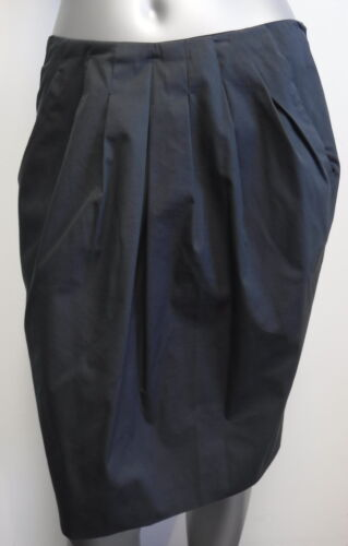 ETRO grey tulip- shape skirt with pleating womens