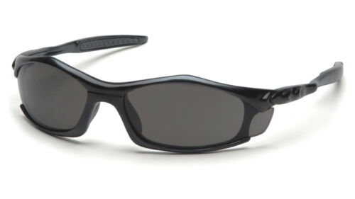 Pyramex Solara Safety Glasses SB4320D  Gray Lens with Black Frame Sun Glasses