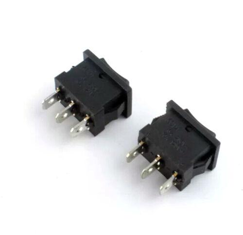 Momentáneo de encendido//apagado//en Dirección Interruptor 3 Pin 21x15mm 3A hágalo usted mismo arriba//abajo del proyecto
