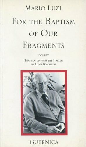 For The Baptism Of Our Fragments  Essential Poets Series 46