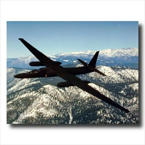 USAF U2 Spy Plane Jet Airplane Wall Picture Art Print