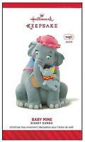 2014 Hallmark Walt Disney's Dumbo Baby Mine Sound Magic Ornament