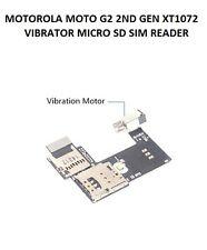 MOTOROLA MOTO G2 2ND GEN XT1072 VIBRA MICRO SD SIM READER CONNECTOR BOARD FLEX