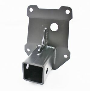"""2014 15 16 17 Polaris RZR  1000    2/"""" Receiver Hitch gusset plate red"""