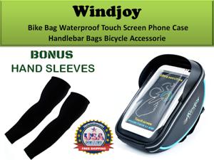 Windjoy Vélo Sac étanche écran Tactile Coque Téléphone Guidon Vélo Sacs Acces