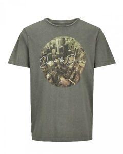 Jack-amp-Jones-Herren-T-Shirt-JORCITYACID-TEE-SS-CREW-NECK