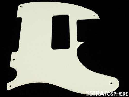 *NEW Parchment P-90 Telecaster PICKGUARD for USA Fender Tele P90 5 Hole 1 Ply