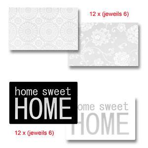 Tischsets-Platzset-Blumen-und-Spitzenmuster-Printaufdruck-034-Home-sweet-Home-034