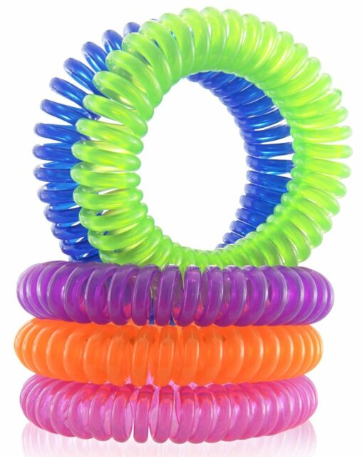 Mosquito Repellent Bracelets 10 Pack All Natural, Deet Free and Waterproof Bands