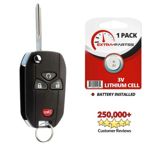 For 2010 2011 2012 2013 2014 2015 2016 Buick Enclave Keyless Remote Fob Flip Key