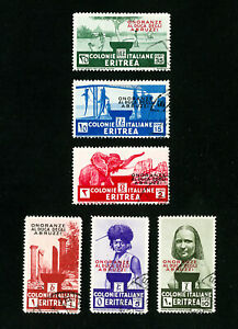 Eritrea-Stamps-169-74-VF-Used-Set-of-6-Scott-Value-257-00