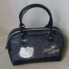 HelloKitty Zipper Handbag Tote Shoulder Bag 2016  New Cute Bow Black Small Size