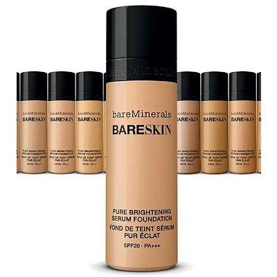 bareMinerals bareSkin Pure Brightening Serum Foundation - Bare Shell 02 - New!