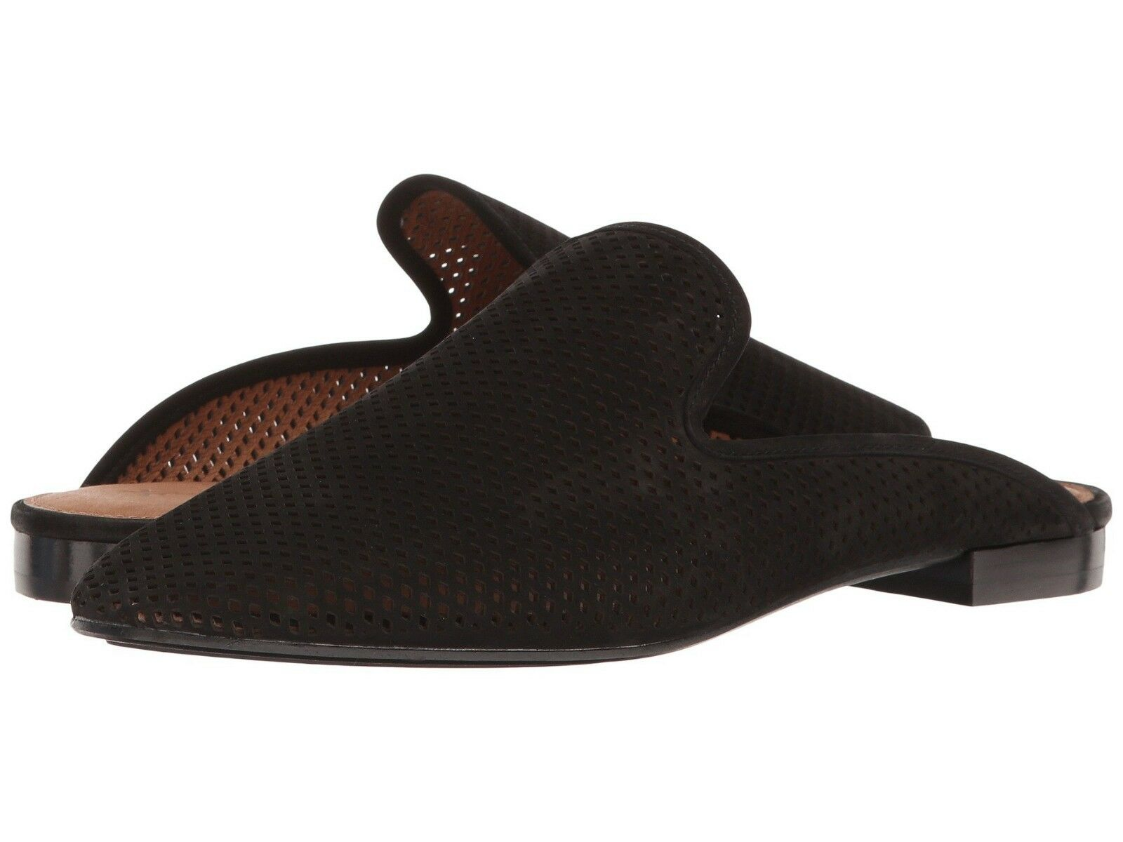 Frye Gwen Black Perf Slide Shoes Black Gwen Mult Sz b2367d