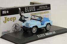 1963 Jeep CJ5 Elvis Presley blau 1:43 Greenlight