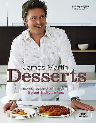 """AS NEW"" James Martin, James Martin - Desserts, Book"