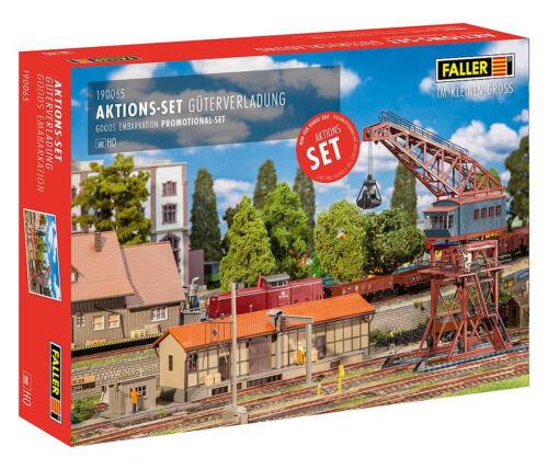 + FALLER 190065 H0 Aktions-Set Güterverladung NEU /& OVP