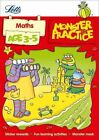 Letts Monster Practice: Maths Age 3-5 by Letts Monster Practice (Paperback, 2014)