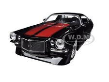 1971 CHEVROLET CAMARO SS BLACK 1/24 DIECAST CAR MODEL BY JADA 90532