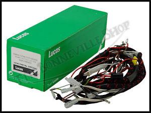 triumph 500 650 t120 tr6 t100 genuine lucas wiring harness 1968 pn image is loading triumph 500 650 t120 tr6 t100 genuine lucas