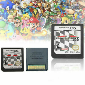 Mario Kart DS (Nintendo DS,2005) Game Card For DS 2DS 3DS Christmas Gift New USA