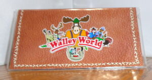 WALLEY WORLD CHECKBOOK COVER # 2. TV MOVIES, CARTOONS. VACATION... .REE SHIPPING