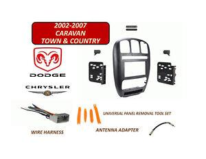 2002 2007 Chrysler Town Country Dodge Caravan 2 Din Install Kit