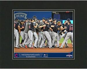 """Cleveland Indians 2016 MLB American League Champs 8"""" x 10"""" Matted Photo"""
