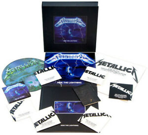 Metallica-Ride-the-Lightning-Deluxe-Box-Set-New-Vinyl-LP-Patch-With-CD-W