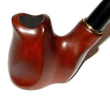 New Modern tobacco smoking pipe Hand Carved Handmade * Poker * for 9 mm filter