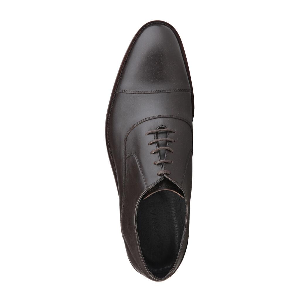 ROCHAS 7354_DAOLO1T_MARRON Herrenschuhe Business-Schuhe, Schnürschuhe, marron