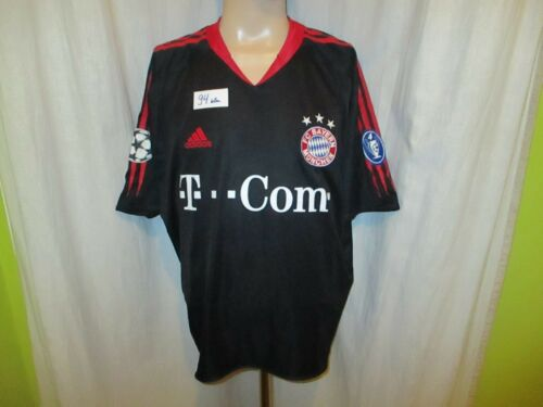 FC Bayern Munich Adidas Ligue Des Champions Maillot 2004-2006 - T --- COM - Taille XL Top
