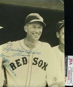 Lefty-Grove-JSA-Coa-Hand-Signed-1938-6x8-Photo-Autograph