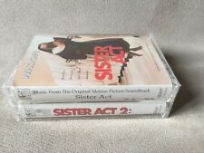 Sister Act/ Sister Act 2 soundtrack cassettes Whoppi Goldberg NEW