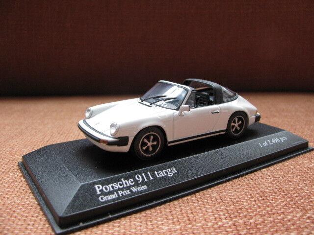 1 43 Minichamps Porsche 911 Targa (1977) diecast (2pcs)