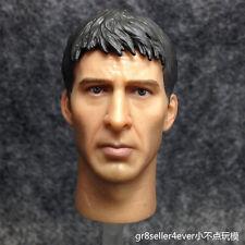 "1/6 scale Custom Head Sculpt Nicolas Cage Ghost Rider Johnny for 12"" figure body"