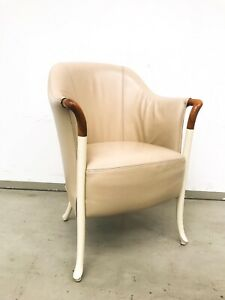Italienisches-Design-Highlight-Giorgetti-Lounge-Sessel-Stuhl-Modell-Progetti