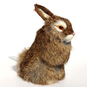 Realistic-Lifelike-Rabbit-Fur-Furry-Animal-Figurine-Easter-Bunny-Photo-Prop-Deco